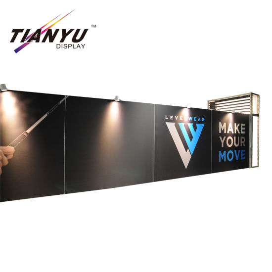 Visual Impact Tension Fabric Hintergrundbeleuchteter Messestand