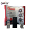 Tragbare Messestand Wand Banner Stand Gerade Kulisse Spannungs-Gewebe oder PVC