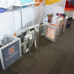 Modular Light Weight Exhibition Booth Material aus Aluminium