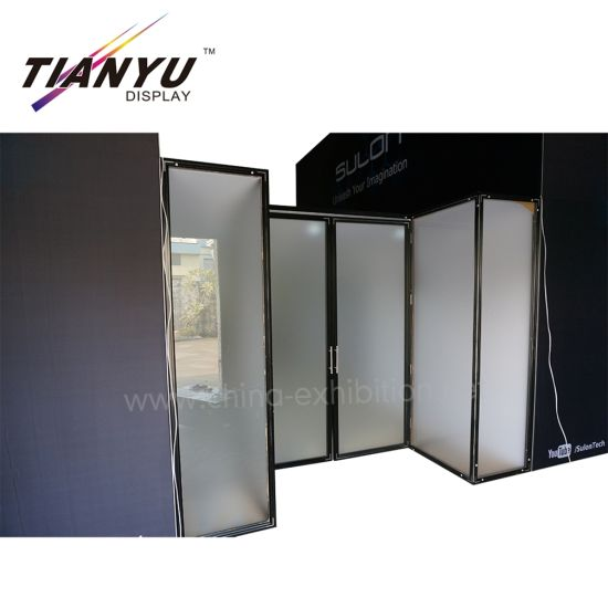 Tian Yu Angebot Tragbare SQF Aluminium Double Deck Messemessestand