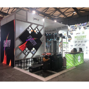 Big Advertising Messemessestand P2.81 ​​LED Panel / Bildschirm / Video Wand